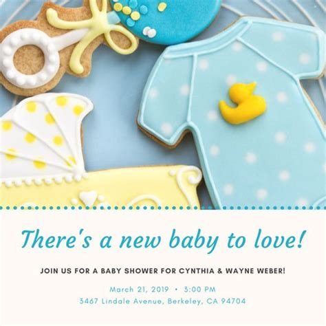 Customize Baby Shower Invitations by Customize 832 Baby Shower Invitation Templates Canva