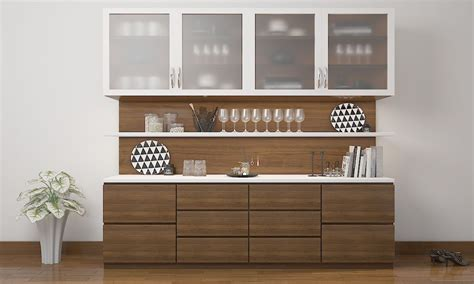crockery cabinet designs modern l shaped crockery unit search crockery unit