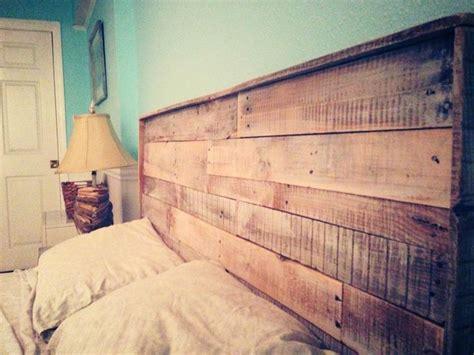 Pallet Headboards Diy by Pallet Headboard Recycle Diy Bedroom Diy With