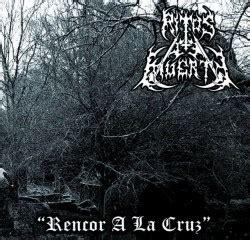 ritos de muerte 8423346129 ritos de muerte rencor a la cruz depressive illusions records