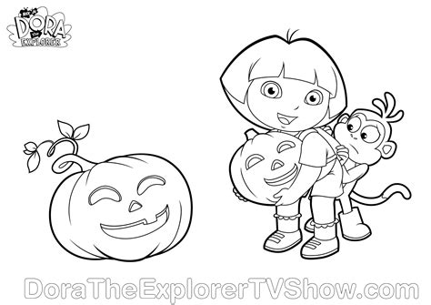 halloween coloring pages dora dara coloring pagesdora123 com dora123 com games coloring