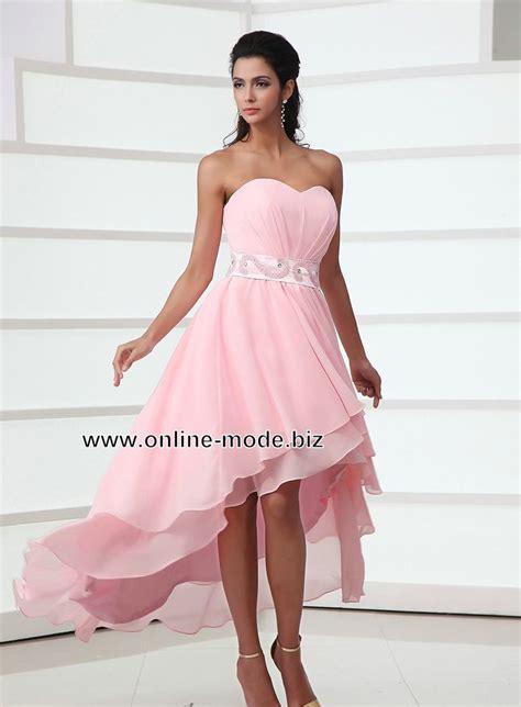 Abendkleid Vokuhila by Rosa Vokuhila Abendkleid Www Mode Biz