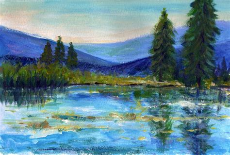 acrylic paint landscape the gallery for gt landscape acrylic painting