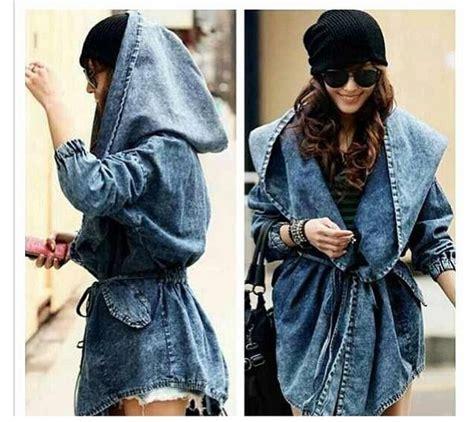 Jaket Parka Vans Doreng milans designs oversized hooded denim jacket