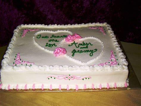 Bridal Shower Sheet Cakes by Shower Cake Decorated Sheet Cake