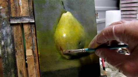 watercolor tutorial still life grisaille painting tutorial part ii pear still life demo