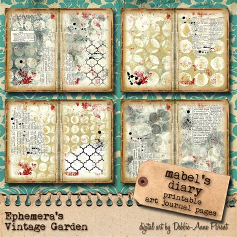free printable art journal pages printable art journal pages