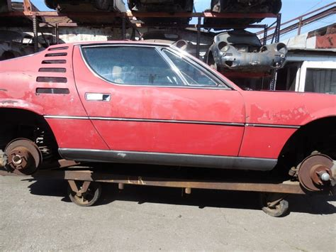 injected  alfa romeo montreal project car  sale