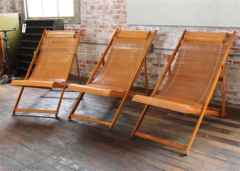 Lounge Chairs For Deck by Vintage Bamboo Wood Japanese Deck Chairs Loungers Outdoor