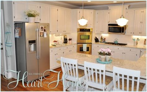 Adding Color To A White Kitchen adding color to a white kitchen all things and home