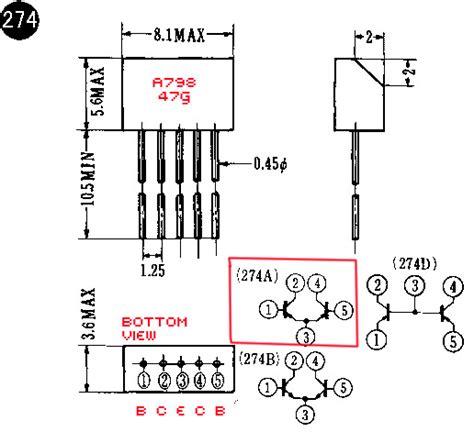 reemplazo de transistor a1941 274a