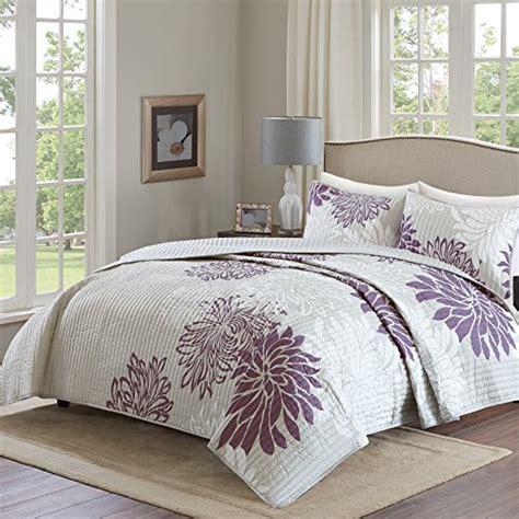 Comfort Spaces Kashmir Comforter Set Product Review For Comfort Spaces Enya Quilt Mini Set 3 Purple And Grey Floral