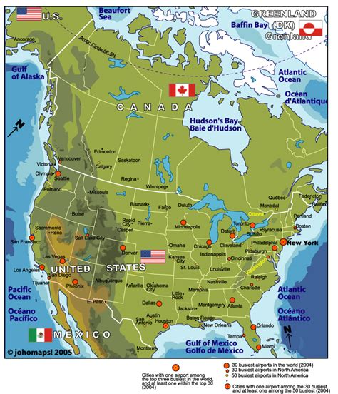 america map of cities map of america johomaps