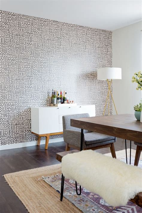 17 best ideas about wallpaper accent walls on pinterest