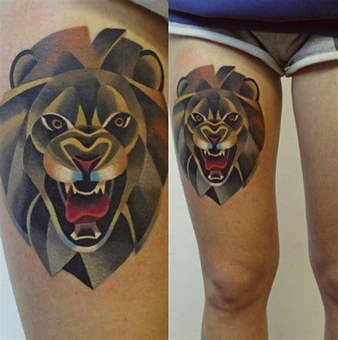 geometric animal tattoo lion 27 glorious geometric patterns in design creative bloq