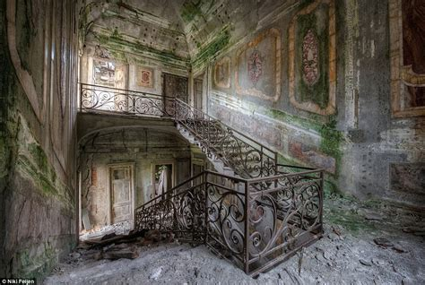 these abandoned mansions and crumbling old churches are