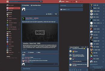 facebook themes red blue and red dark colorful facebook theme themes and