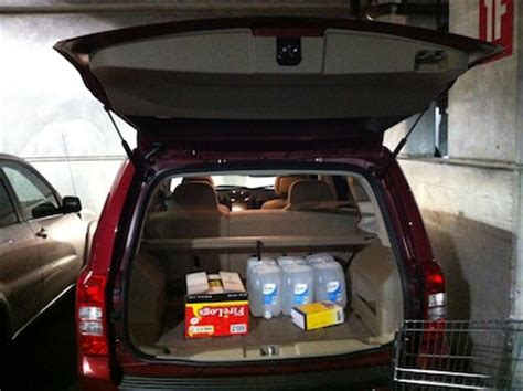 Jeep Patriot Cargo Space 2013 Jeep Patriot Review Hurricanes High Tides And