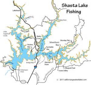 shasta lake fishing