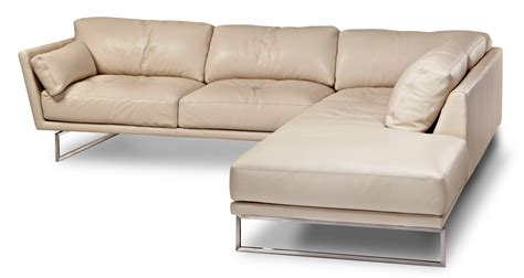 american leather sectional american leather graham sofa sectional in stock