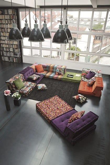 la roche bobois divani divano componibile in tessuto mah jong missoni home