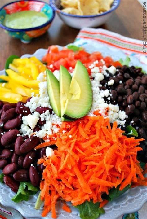 simply vibrant all day vegetarian recipes for colorful plant based cooking books best 25 healthy taco salad recipe ideas on