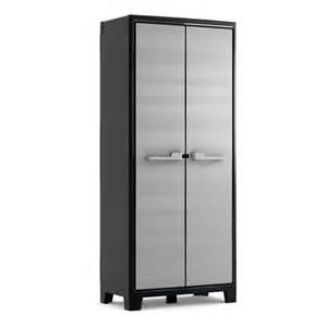 armoire holo grise int 233 rieur ext 233 rieur 182 cm castorama