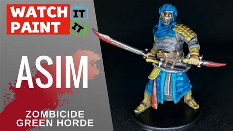 Painting Zombicide Green Horde by Zombicide Green Horde Painting Asim