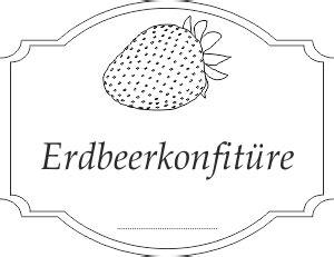 Etiketten Drucken Pdf by Etiketten F 252 R Erdbeerkonfit 252 Re Pdf Drucken Kostenlos