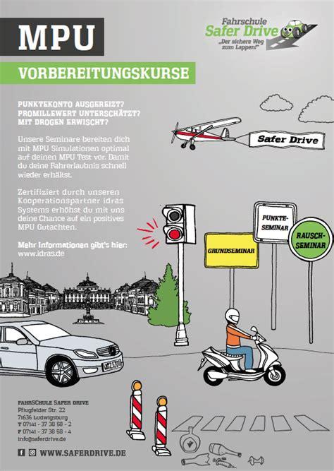 mpu wann safer drive ludwigsburg der sichere weg zum lappen