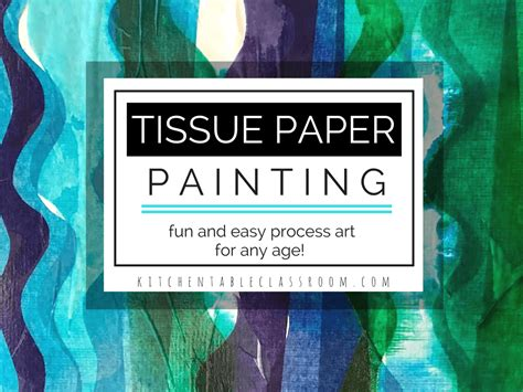 Process Of Tissue Paper - tissue paper a process activity with unlimited