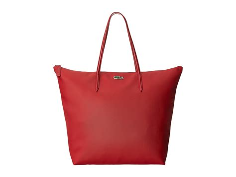 Lacoste Shopping Bag lyst lacoste l1212 concept travel shopping bag in