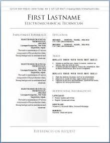free resume templates word fillable resume templates template design
