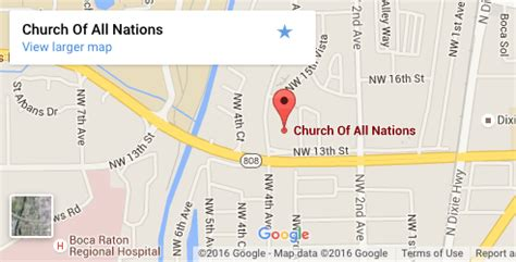 church of all nations boca