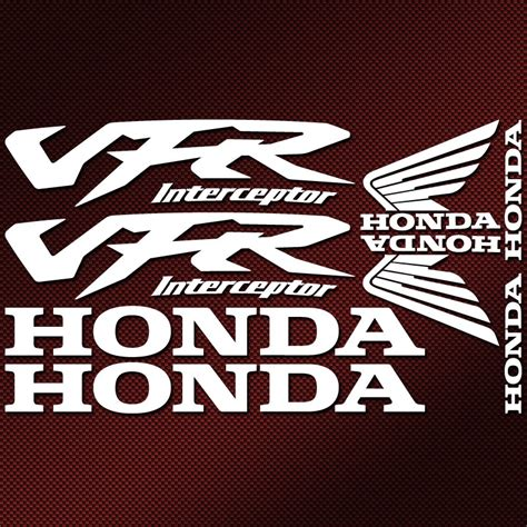 Honda Vfr 800 Vtec Aufkleber by Kit Autocollants Honda Vfr Interceptor Stickers Moto