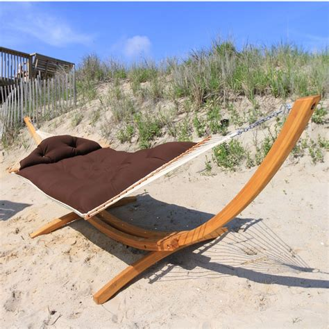 sunbrella mocha tufted hammock nags hammocks sku