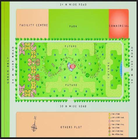 Layout Plan Of Amrapali Zodiac | investors clinic real estate consultant amrapali zodiac noida
