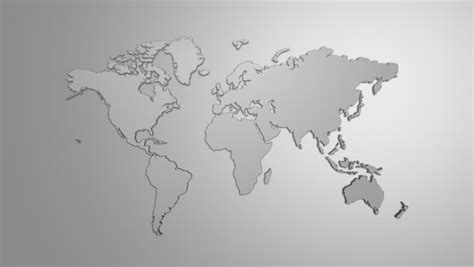 visio world map background world map and waves stock footage 6080726