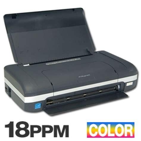 portable color printer buy the hp deskjet h470b portable color inkjet printer at
