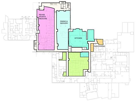 exle floor plans thompson health gt foundation gt building a healthy future