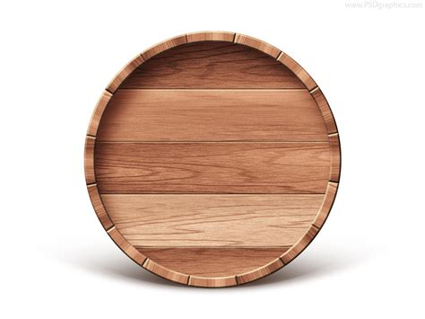 wooden barrel emblem psd template psdfinder co