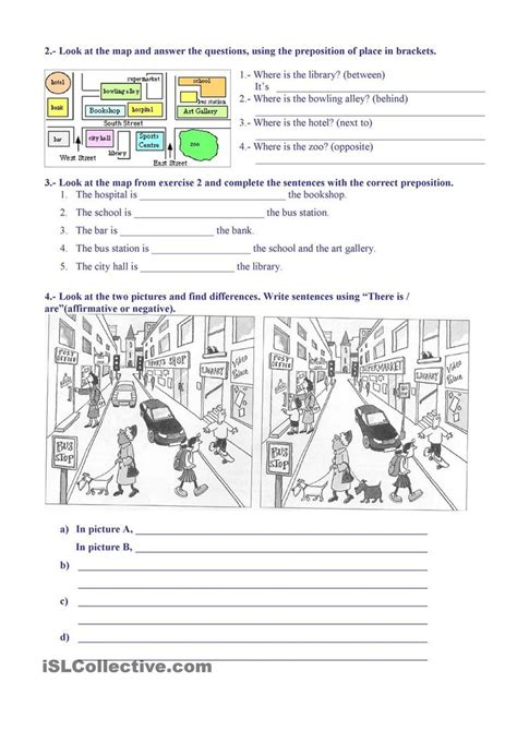printable activities about giving directions 752 best esl freebies images on pinterest learning