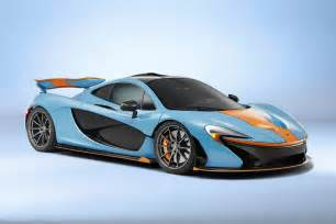 mclaren p1 in gulf racing color scheme hypebeast