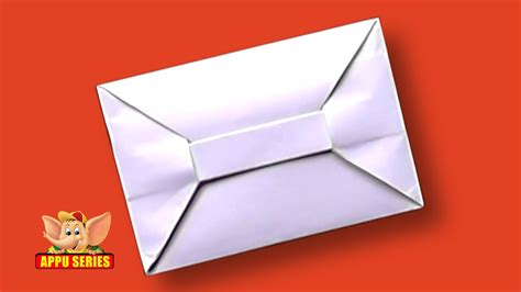 How Do You Make A Paper Envelope - origami how to make an envelope hd