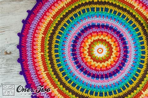 colourful rugs colorful rug by oneandtwoco craftsy