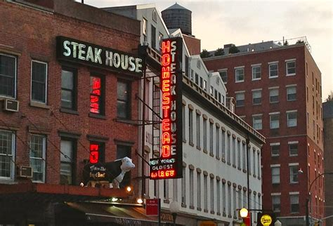 Light District Nyc by Homestead Steakhouse Meatpacking District Ephemeral