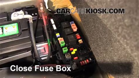 interior fuse box location   dodge challenger  dodge challenger rt