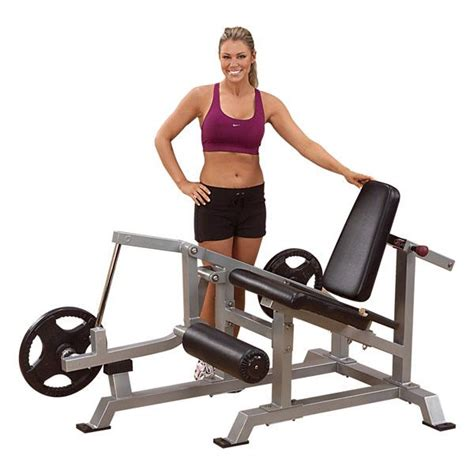 leverage weight bench body solid leverage leg extension weight bench