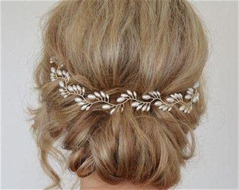 Wedding Hair Accessories With Blue by Sapphire Hair Vine Blue Bridal Hair