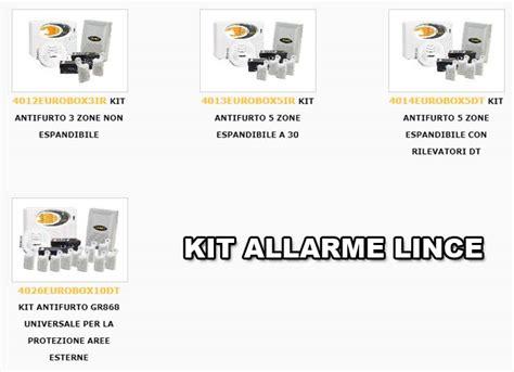 kit antifurto casa wireless kit allarme lince allarme casa wireless